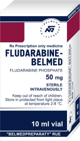 Fludarabine, lyophilized powder for solution for injection 50 mg