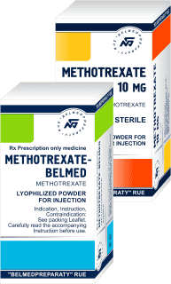 Methotrexate, lyophilized powder for solution for injection 10 mg, 50 mg, 1000 mg