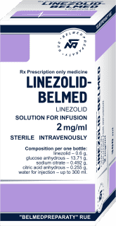 Linezolid, solution for infusion 2 mg/ml