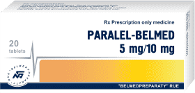 Paralel, tablets 5mg/10mg