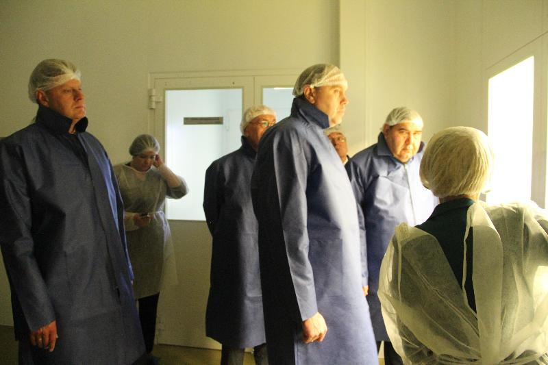 Узбекская делегация